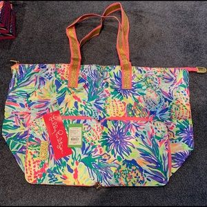 Lilly Pulitzer Packable Tote, NWT